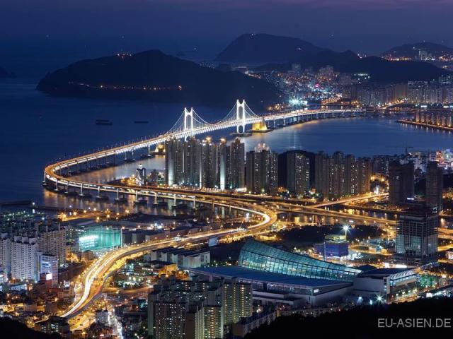 Blick-Busan-Korea-Region-Sehenswuerdigkeiten-marked